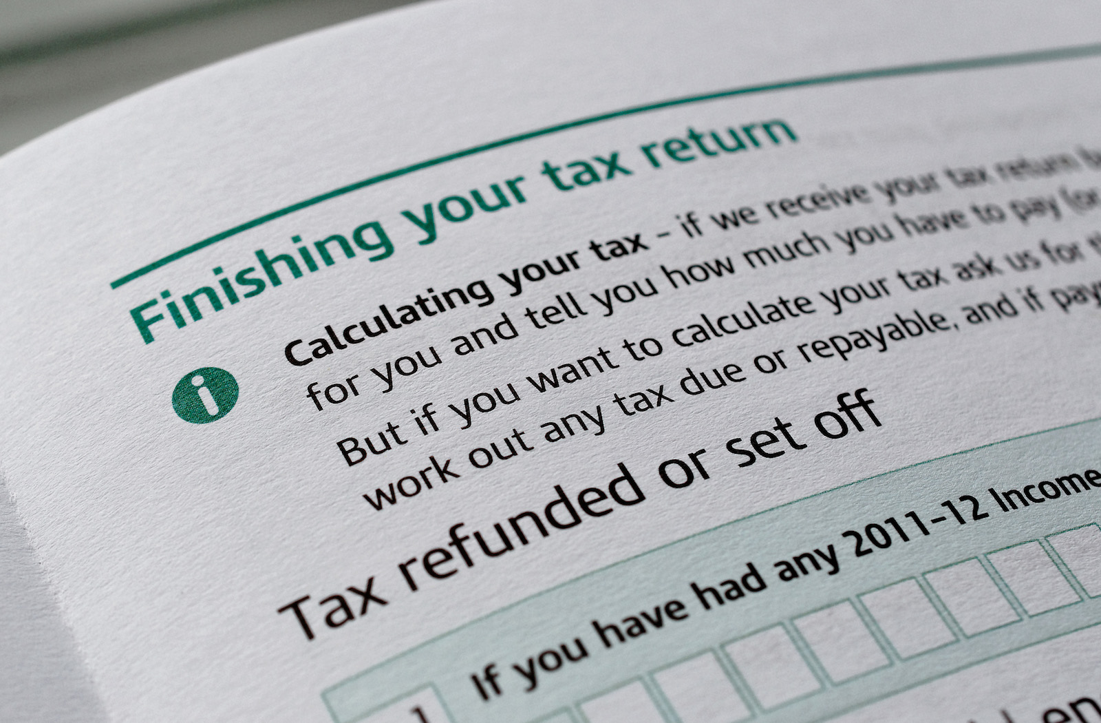 Five tips for completing that dreaded tax return…